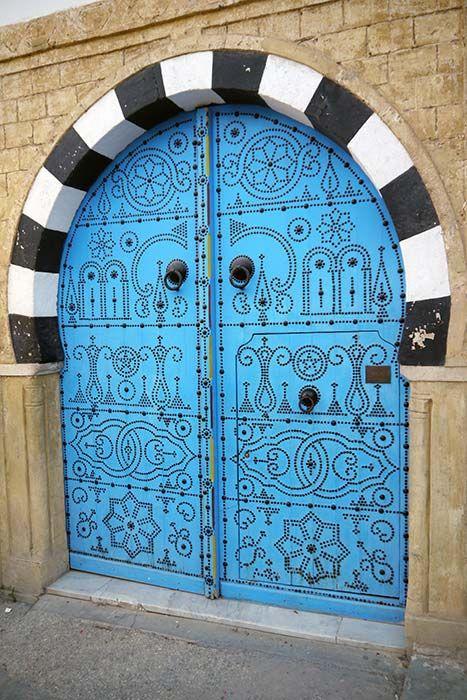 25 best ideas about tunisie tourisme on pinterest le for Decoration porte sidi bou said