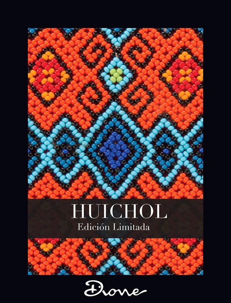 Dione edicion limitada Huichol linea zapatos clutch bolsos