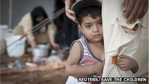 """Syria refugees to reach 700,000 by year's end - UNHCR-The UN's refugee agency has warned that as many as 700,000 people could have fled Syria by the end of the year, a huge increase on its previous estimate..."""