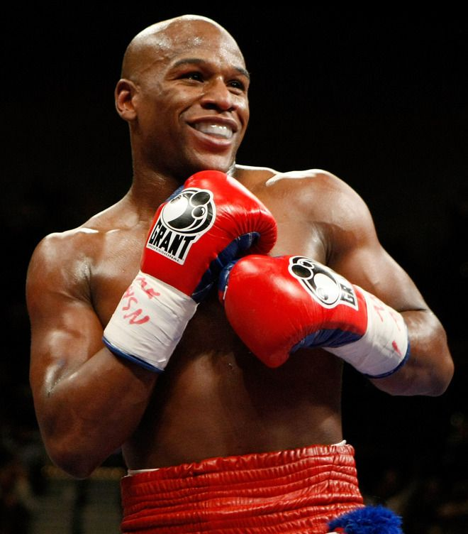 Floyd Mayweather, Jr. is an American professional boxer. He is undefeated as a professional
