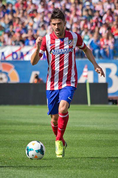 David Villa - Atlético Madrid