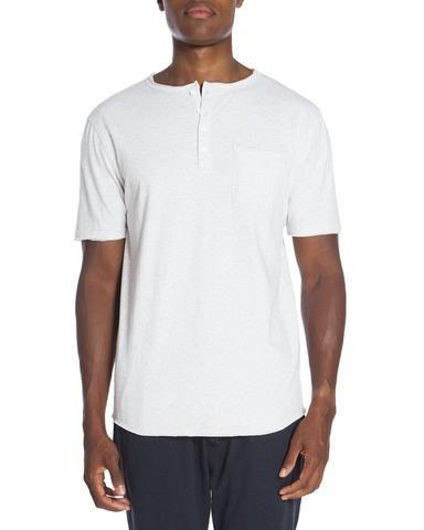 Raw Edge Short Sleeve Short Sleeve Pocket Tee. Unsimply Stitched Loungewear. sleepwear. Men's loungewear. Men's knits. Men's sleepwear