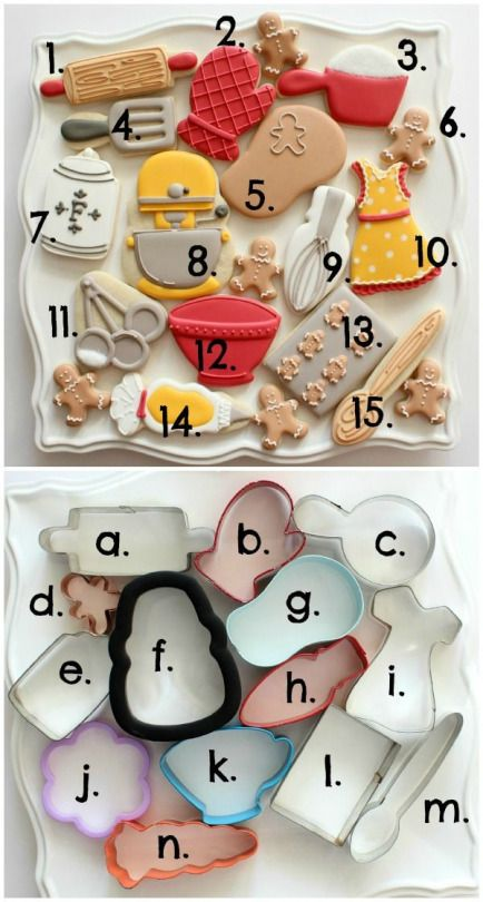 Why didn't I think of this?! I willbe using different themes for my cookies from now on instead of just decprating them differently.