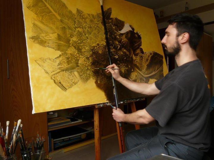 Emanuele Daskanio – slikar čije slike je teško razlikovati od fotografije - Page 2 3cea980f765f801795106cc1147aa7fa--art-blog-art-studios