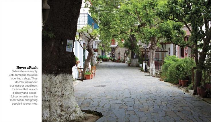 ISLANDS Wish List - Ikaria Greece: Never a rush.