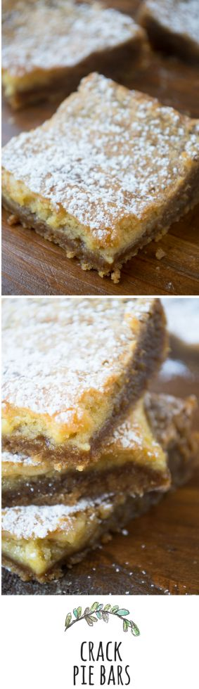 A more user friendly version of the famous Crack Pie --- easier to make, but no less addictive!