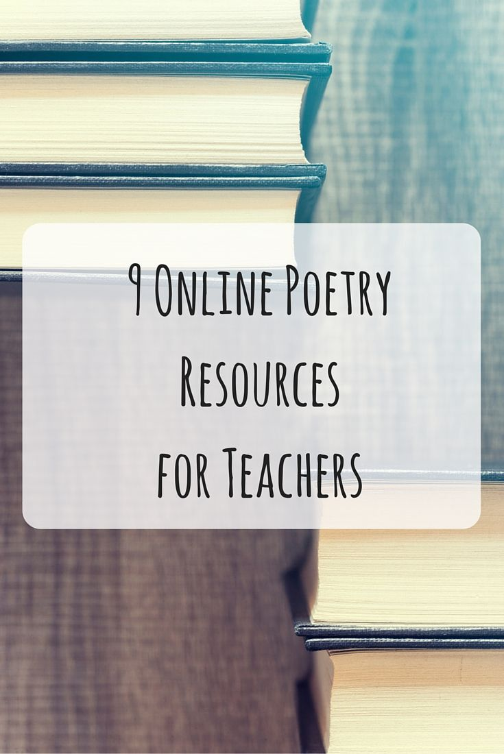 how to teach free verse poetry