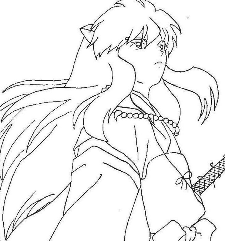 Best Fresh Colouring Pages Inuyasha Coloring Pages Coloring Pages Colouring Pages Inuyasha