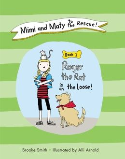 Today, Freekibble.com is giving away FIVE free autographed copies of the book Mimi and Maty to the Rescue! Book 1: Roger the Rat is on the Loose.
