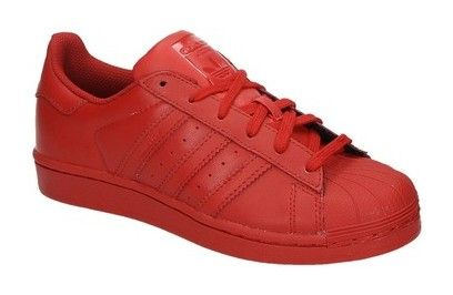 Adidas SUPERSTAR SUPERCOLOR rode lage kinder sneakers http://www.sooco.nl/adidas-superstar-supercolo-rode-lage-kinder-sneakers-21175.html