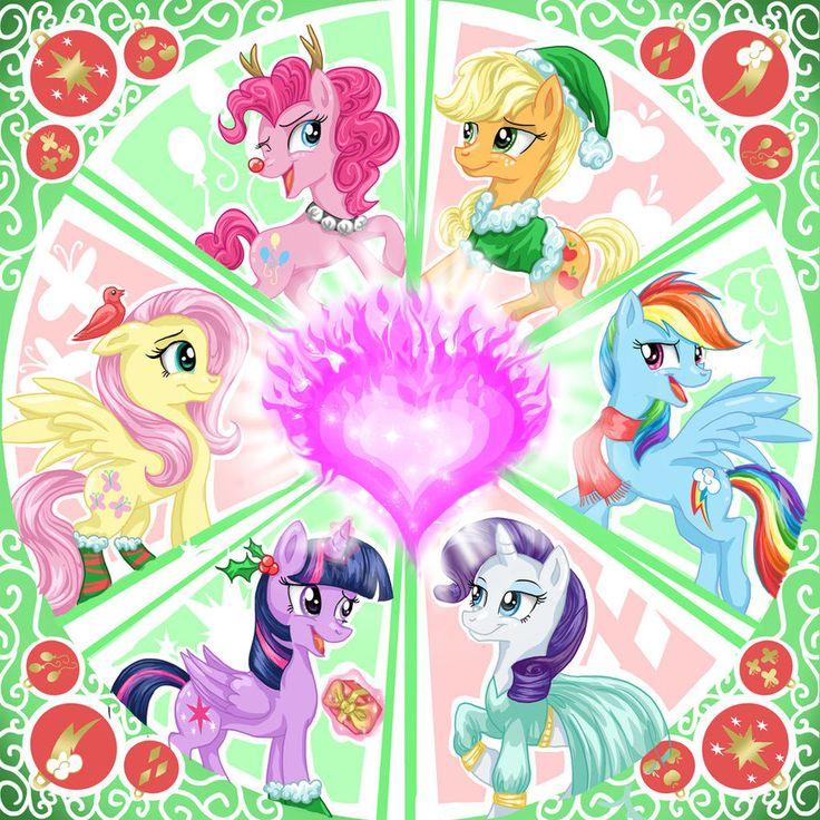 It's a Pony Kind of Christmas by Dangerblaze.deviantart.com on @DeviantArt