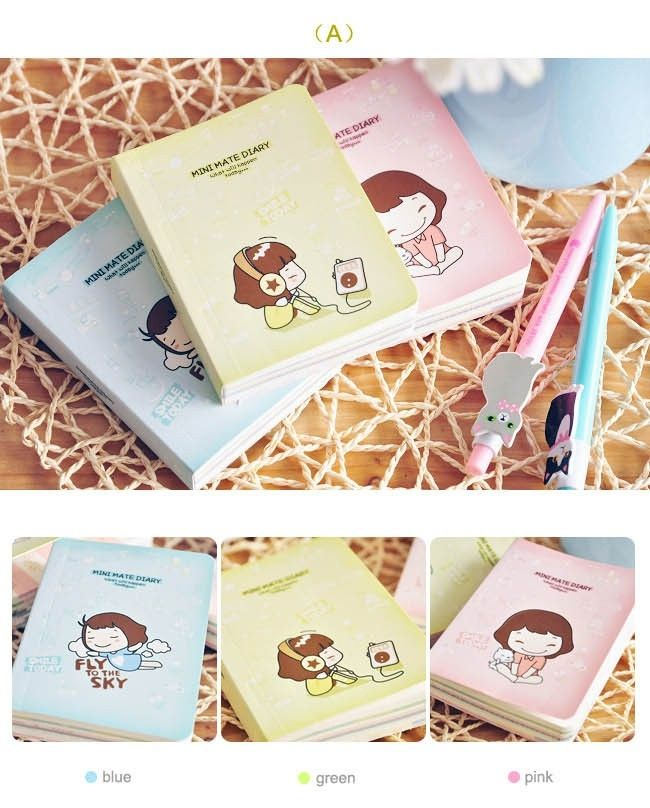 Mini Mate diary notebook   madebymaly