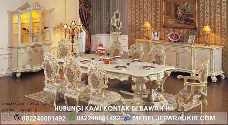 Set Kursi Makan Mewah Minerva Ukiran Klasik Eropa - http://www.mebeljeparaukir.com/set-kursi-makan-mewah-minerva-ukiran-klasik-eropa/