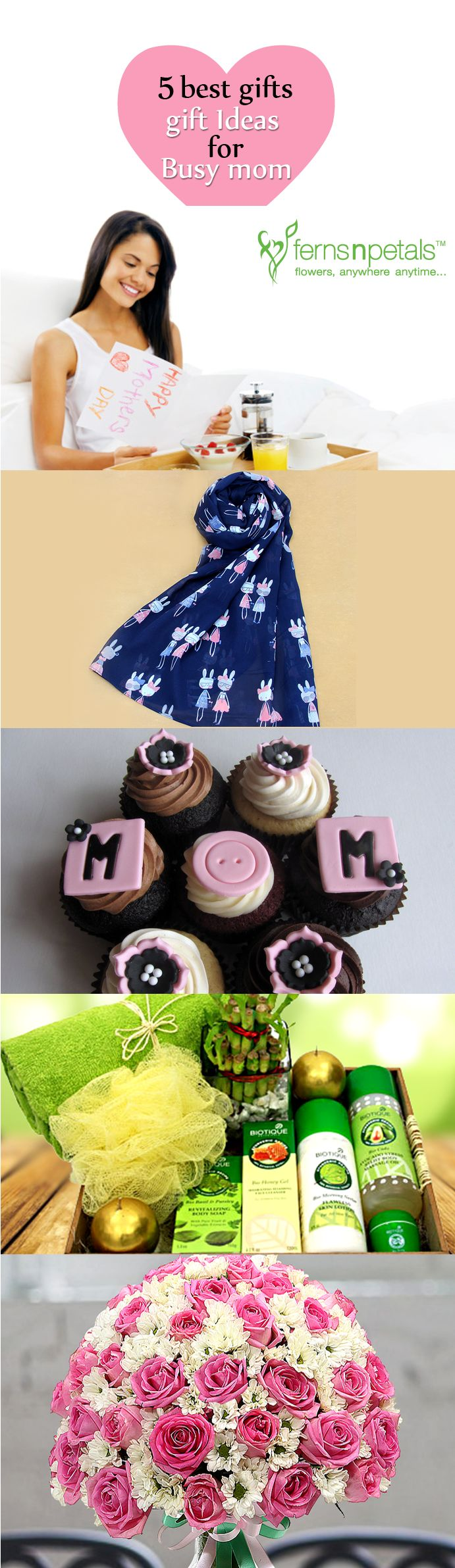 This #mother's #day surprise your busy mom with any of these or all of these fun #gift #ideas.