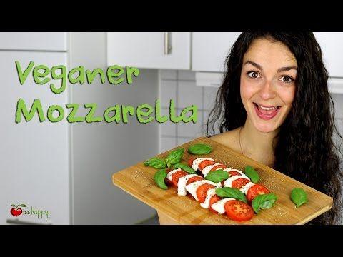 Veganer Mozzarella aus Cashews - Iss Happy