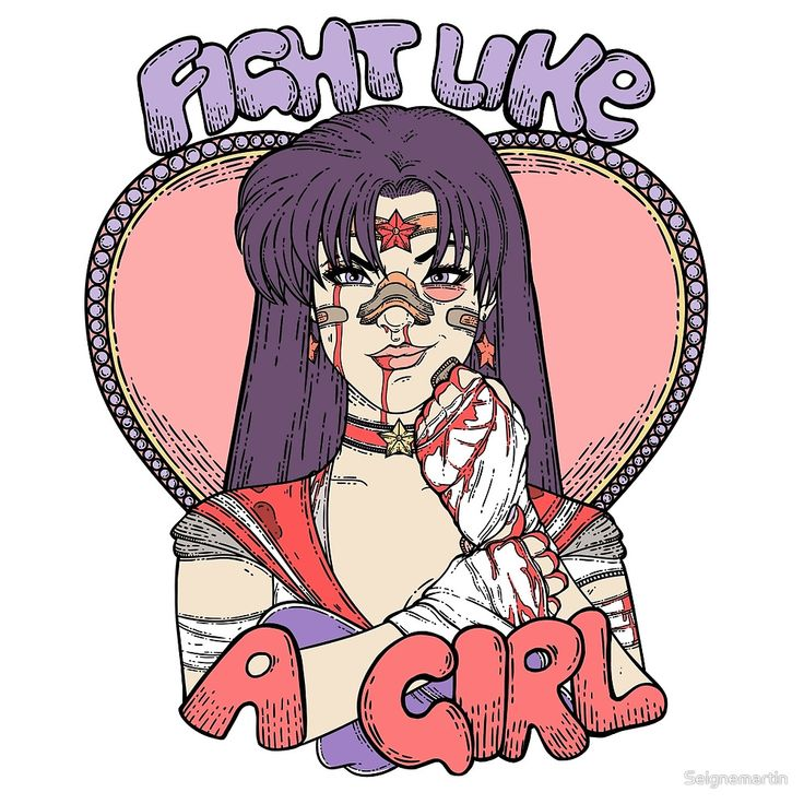 "Sailor Moon - Fight Like A Sailor (Sailor Mars)"" by Seignemartin ..."