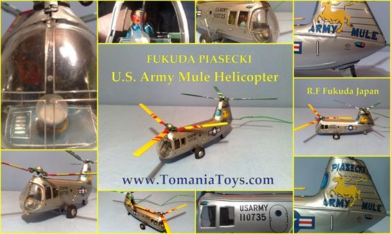 Fukuda PIASECKI Army Mule Helicopter