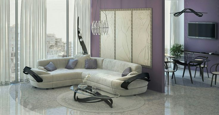 """""""Купи себе диван, и на два года ты полностью удовлетворен: не важно, что что-то идет не так, по крайней мере, ты решил вопрос с диваном."""" Чак Паланик. #актуальныйдизайн #мебельизмассива #гнутаямебель #уют #дом #sweethome #beautiful #гостиная #livingroom #диван"""