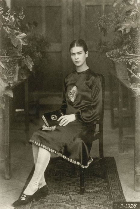 Baby and childhood photos of Frida Kahlo, taken by her photographer father Guillermo | Dangerous Minds