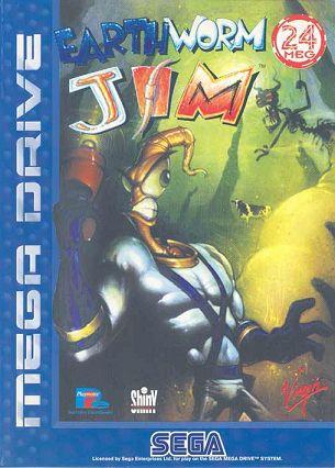 Earthworm Jim 1 - Sega Megadrive / Genesis