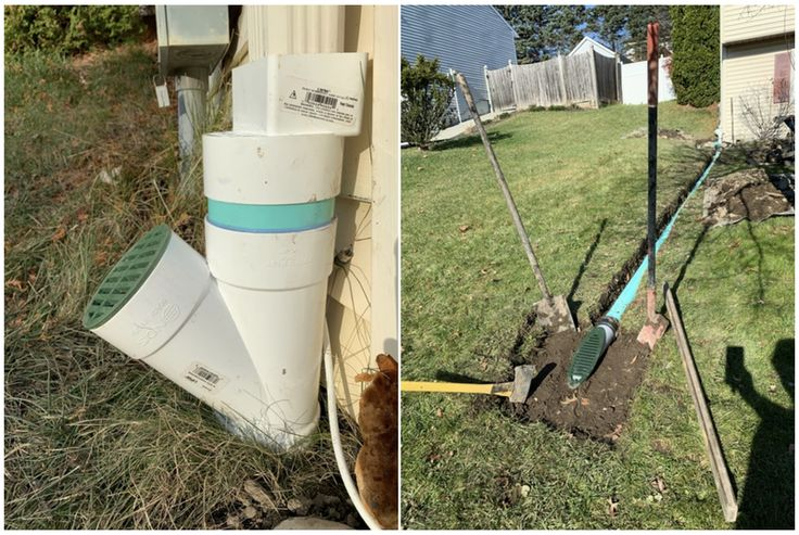 Drainage solutions for water leaking into foundation