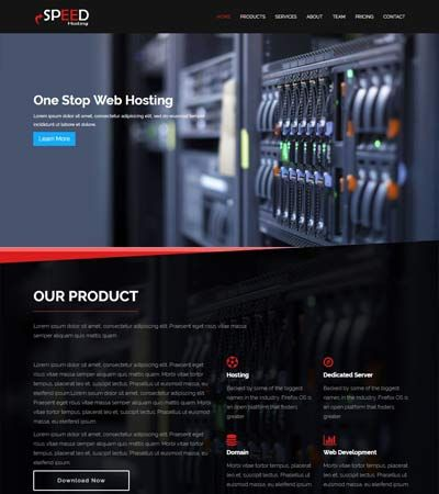 Speed-Hosting-Bootstrap-Free-HTML5-Template