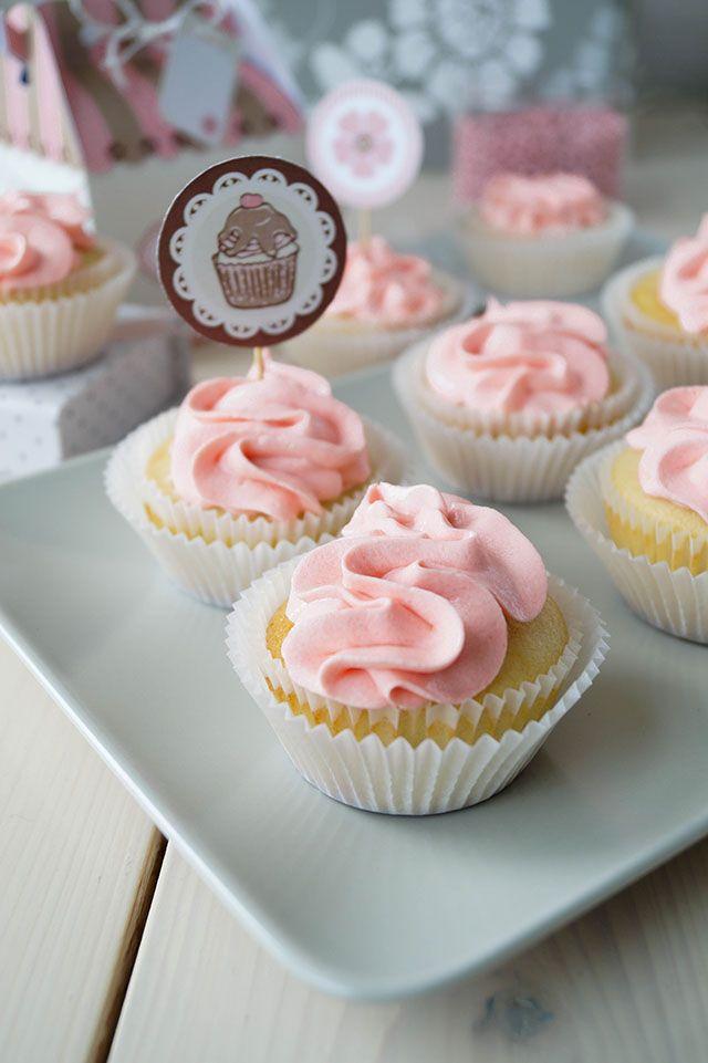 Крем из белого шоколада для тортов и капкейков | Foodieblog