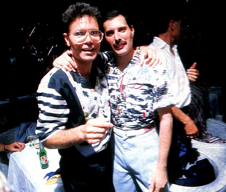 Freddie With Cliff Richard You Call It Obsession I Call