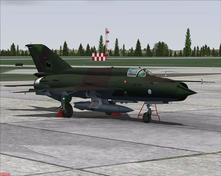 Finnish Air Force   Finnish Air Force MiG-21MF for FSX