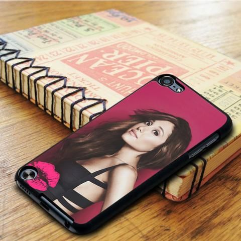 Ariana Grande Pink Kiss iPod 6 Touch Case