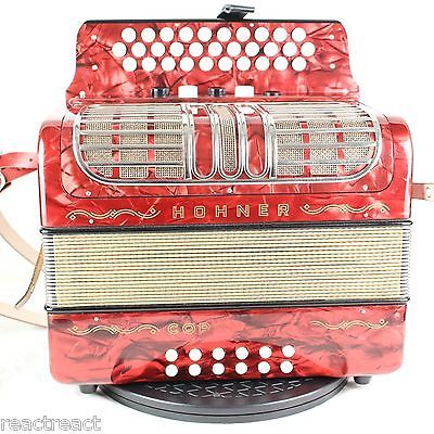 HOHNER Corona III R Classic button accordion GCF Sol (16134) - http://musical-instruments.goshoppins.com/accordion-concertina/hohner-corona-iii-r-classic-button-accordion-gcf-sol-16134/