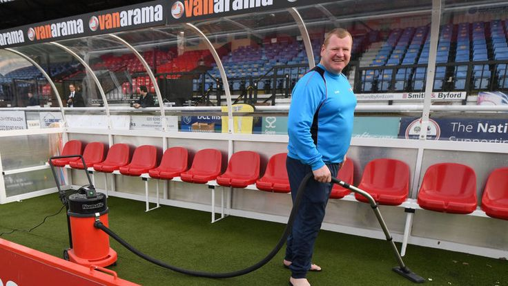 cool Sutton goalkeeper Wayne Shaw's pie stunt investigated by Gambling Commission | Football News