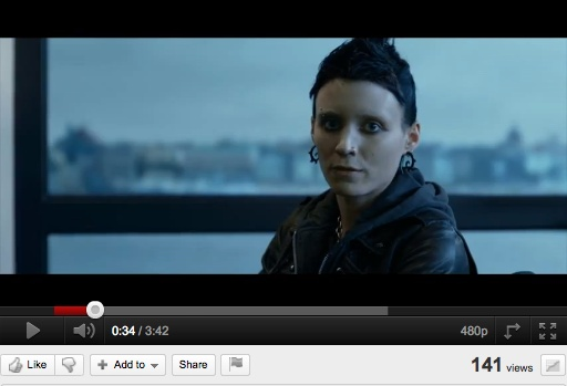 Girl With The Dragon Tattoo Extended Trailer