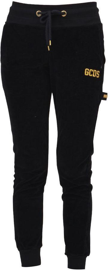 GCDS Black Jogger Pants