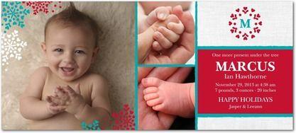 Delicately Delighted: Enchanted - Studio Basics: Birth Announcements in Enchanted | Tiny Prints Studio Basics