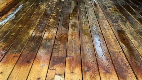 Transform Your Deck With Deck Cleaner And Brightener Deck