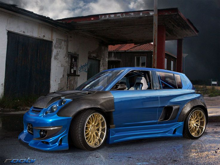 Suzuki Swift by roobi on deviantART