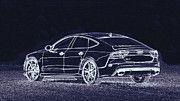 """New artwork for sale! - """" Audi Rs7 Us  by PixBreak Art """" - http://ift.tt/2ns7Beg"""