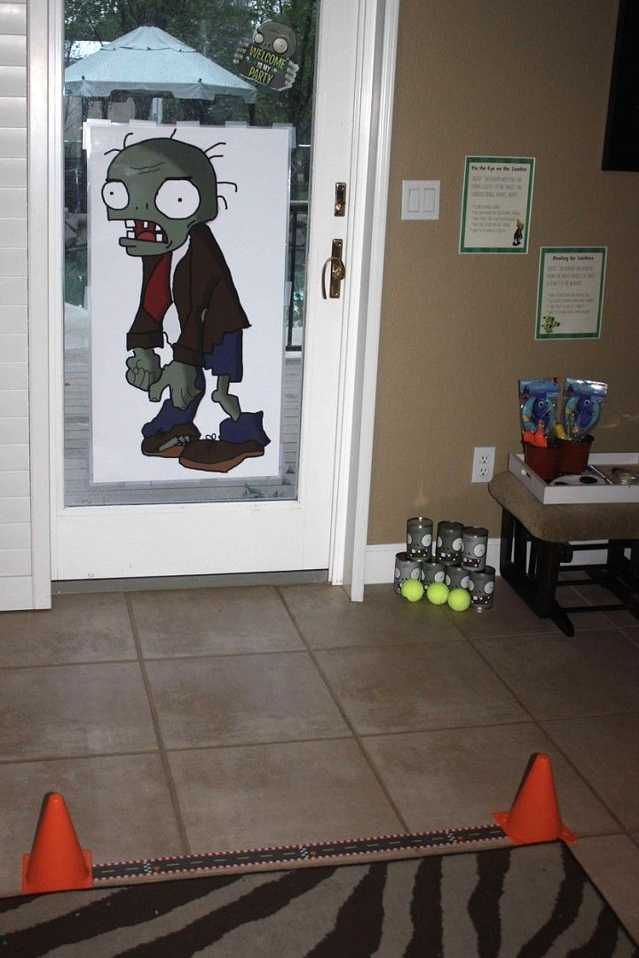 Plants vs Zombies Birthday Party – PVZ at Tha Compound 916 | LGoFo