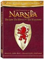 The Chronicles of Narnia: The Lion, The Witch and The Wardrobe (2005)     Photo © Disney Enterprises, Inc.  During WWII four child refugees – Lucy, Susan, Edmond, and Peter Pevensie - tearfully leave their mother to go and live in the massive old manor of an elderly professor. While playing a game of hide-and-seek, Lucy hides in an old wardrobe and stumbles through the fur coats into a snowy enchanted kingdom where they eventually rule as kings and queens. Rated PG. Ages 7+. (There are…