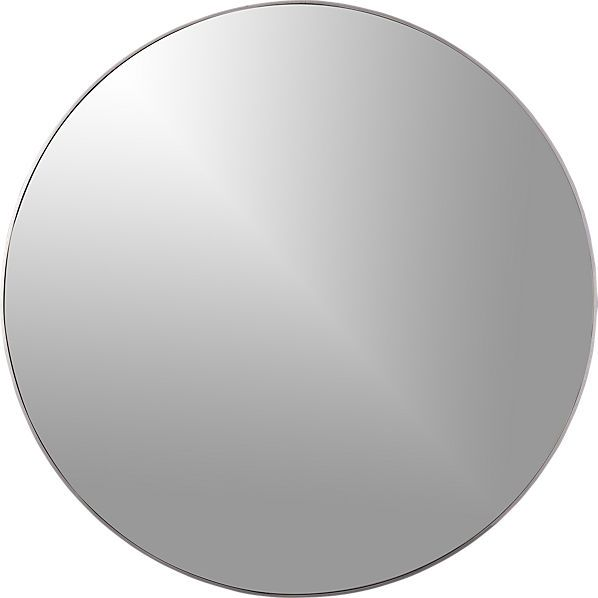 """infinity 24"""" round wall mirror"""