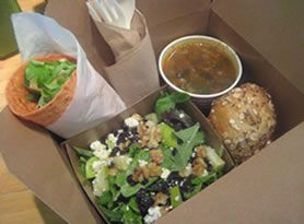 creative catering catering boxed lunches - Google Search