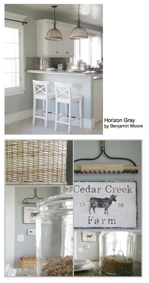 84 best images about house paint colors on pinterest for Horizon benjamin moore grey