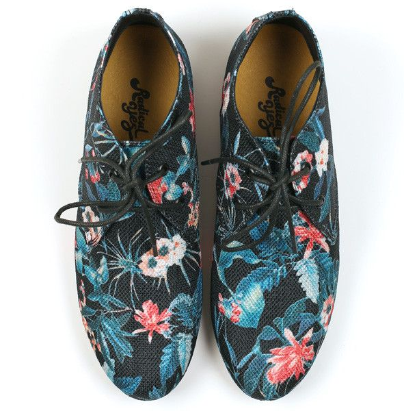 Radical Yes 'Move & Be Moved' Black Tropical Print Bootie