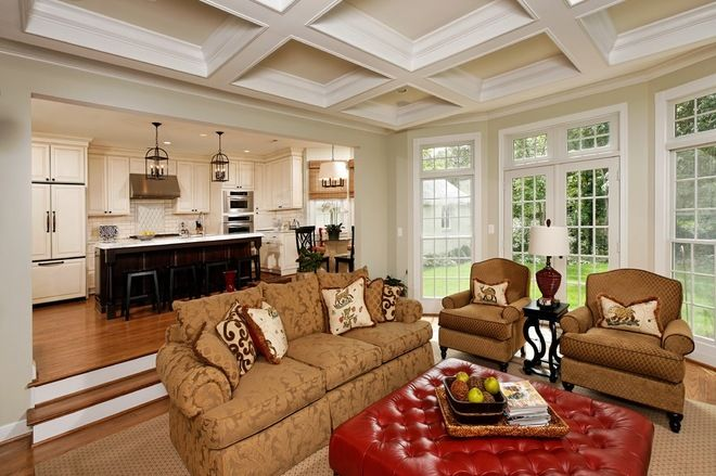 Sunken Living Room Ideas how to update old style