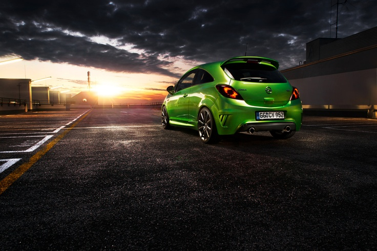 Opel Corsa OPC Nürburgring Edition by Frederic Schlosser, via 500px
