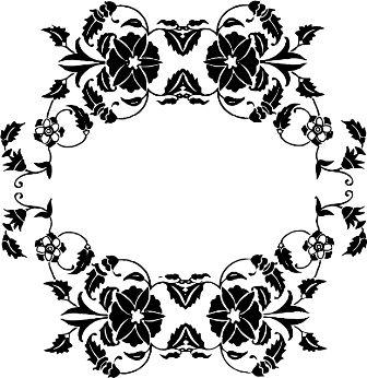 Индийский орнамент NM