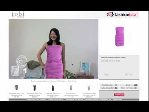 Virtual Dressing Room: Try It On - YouTube