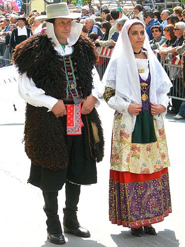 Traditional dress Teulada
