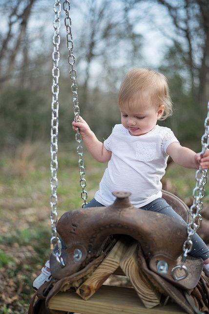 Amelia on the Saddle Swing | Flickr - Fotosharing!